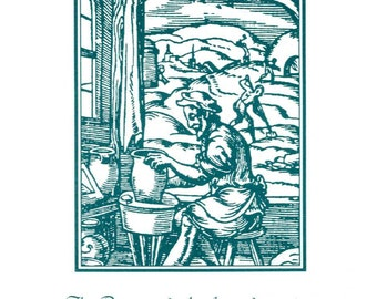 Series I, The Potter - Occupational Bookplate