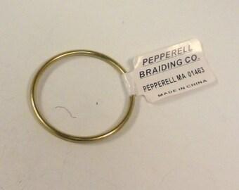 Pepperell 2 Inch Brass Ring