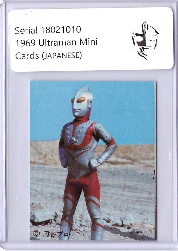 Rare 1969 ultraman card in japanese ultraman 18021010 stopboris Images