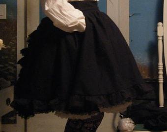Ruffleback Skirt