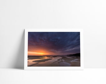 Sunset at the Mueller, Fine Art print signed and numbered