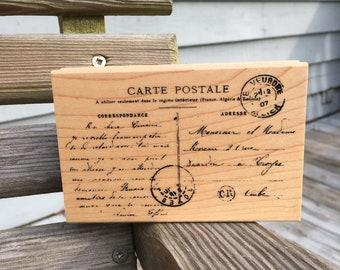 Stampendous Carte Postale stamp