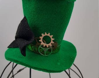 The Wizard Tiny Top Hat, The Wizard Costume, Halloween Costume, Wizard of Oz Hat, Wizard of Oz Costume, Wizard of Oz Cosplay, Steampunk Hat
