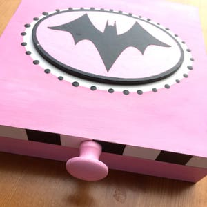 Batgirl jewelry box Etsy