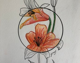 Lily's and Geometric art