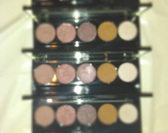 Purple, burgundy, brown and pink highlight