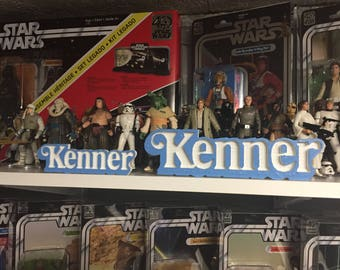 Kenner Toys Shelf Display - 70's / 80's / 90's - Star Wars, Batman, JP, Etc
