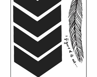 Liam Payne Inspired Temporary Tattoo Sheet