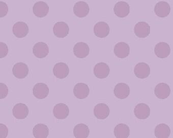 Medium Tone on Tone Dots Lavender:  Riley Blake Designs Cotton Basics 1 Yard