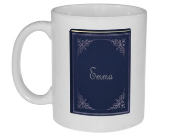 Jane Austen Novels Coffee or Tea Mug - Emma - Perfect Gift for Jane Austen Lovers