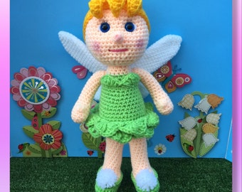 Tinkerbell (PDF pattern only not the finished doll)