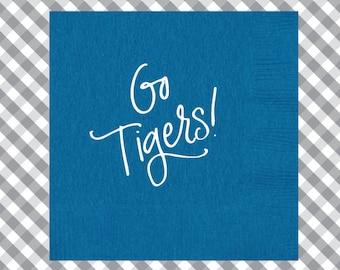 Tigers Napkins (Qty 25)
