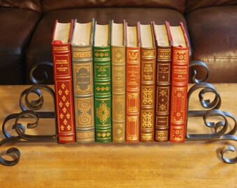 Ornamental Wrought Iron Book Display Stand
