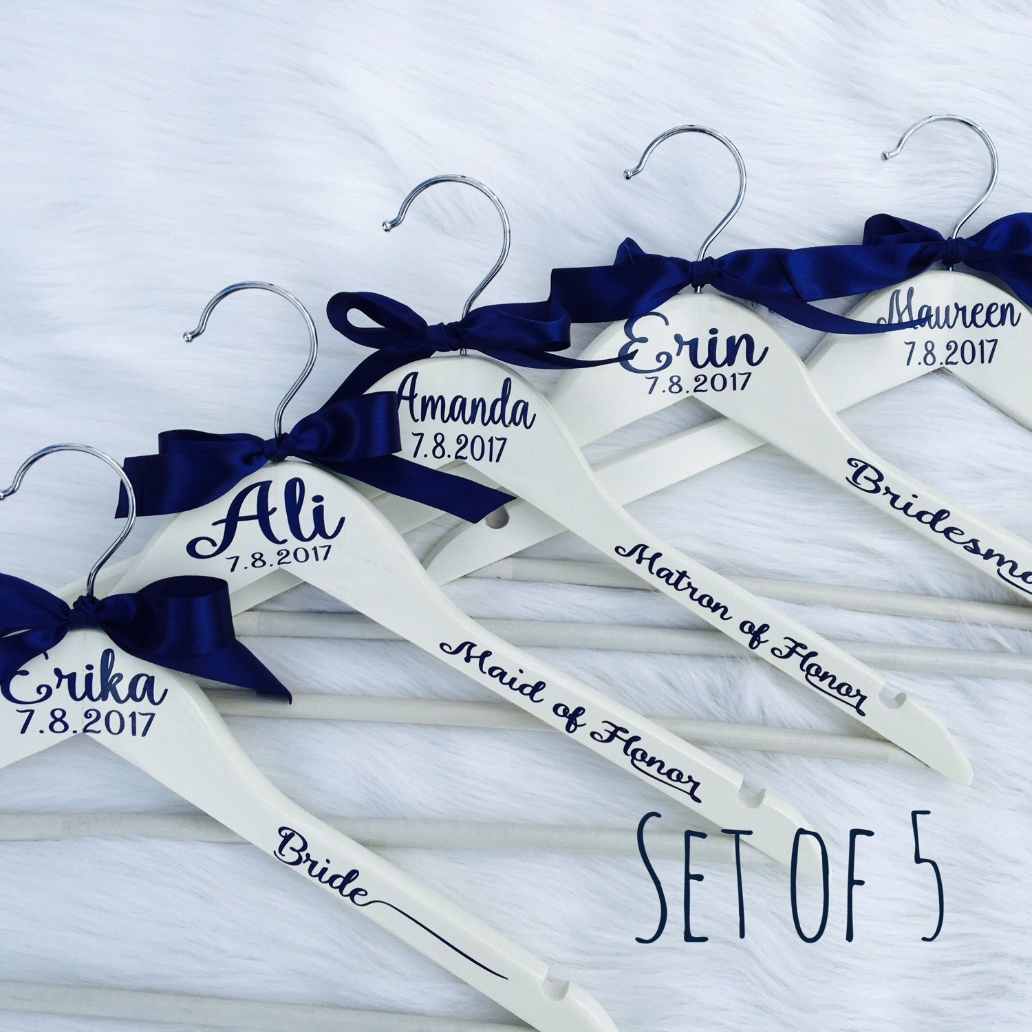 Amazing Wedding Dress Hangers With Name Ensign - All Wedding Dresses ...