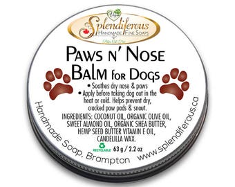 Paws n' Nose Balm for Dogs, Paw wax, for dogs