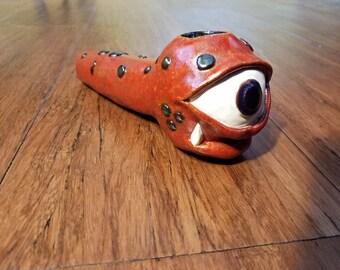Monster Eye Ceramic Pipe