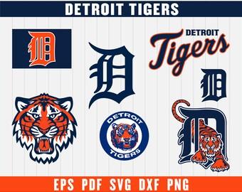 Detroit Tigers SVG, Detroit Tigers, Detroit Tigers SVG, Baseball Clipart, Tigers