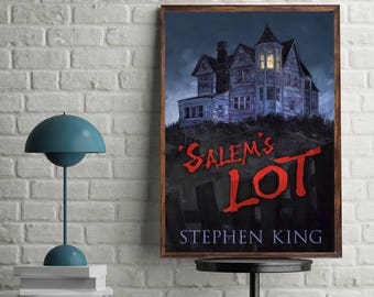 Salem's Lot Stephen King Masterpiece Horror Book Cover Poster