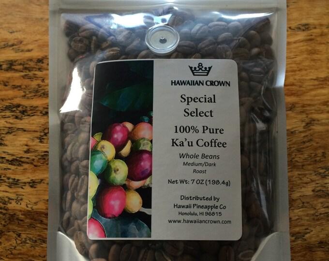 Ka'u 100% Pure Hawaiian Coffee- 7oz