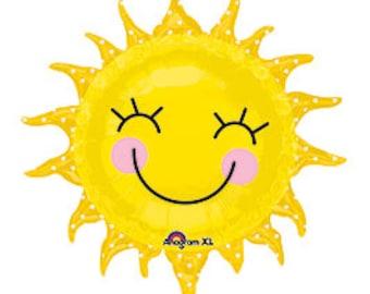 SHIPS FAST - You are my Sunshine Balloon, Sun Balloon, You are my Sunshine Birthday, Sunshine Party- SHIPS 2-3 Business Days