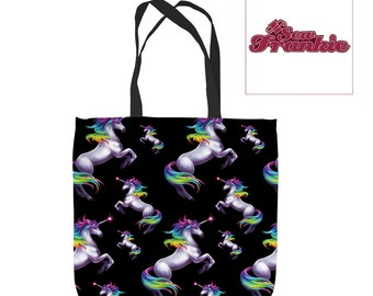 Rainbow Unicorn Tote Bag
