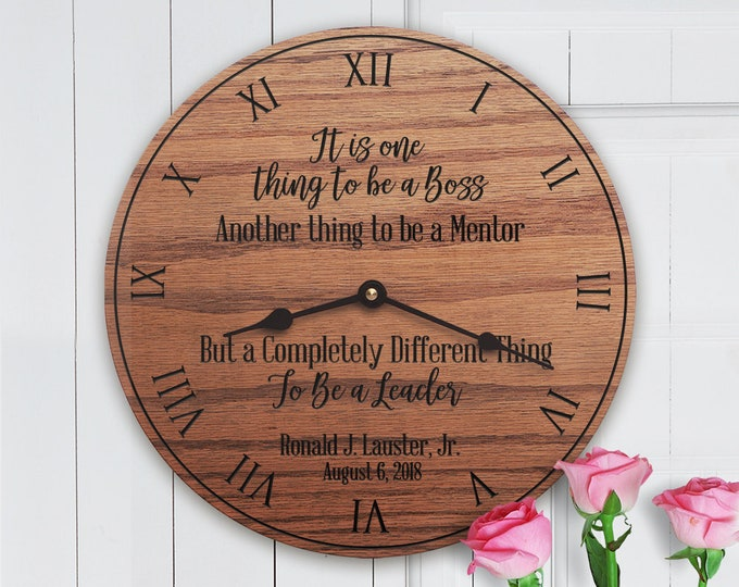Personalized Gift for Boss - Female Boss - Male Boss - Boss Quote - Leadership Quote - Completely Different Thing (Script)