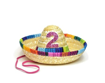 Taco Bout A Party 2nd Birthday || Taco Bout Cute Fiesta Party || Taco Party Hat || Mini Sombrero || Uno Party Hat || Cinco De Mayo