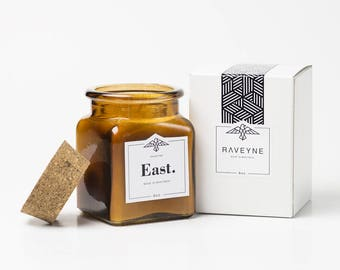 East. Candle