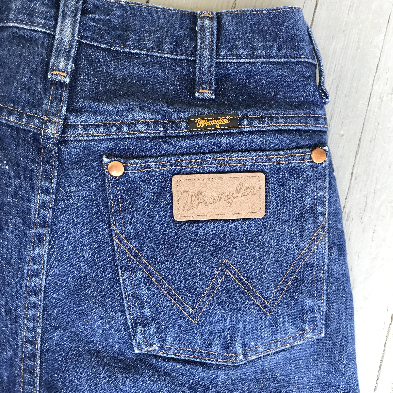 vintage wranglers wrangler jeans high waisted jeans vintage denim high rise jeans western. Black Bedroom Furniture Sets. Home Design Ideas