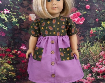 Casual Spring Dress for 18 Inch Dolls