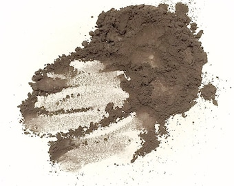 HAIR POWDER Dark Brown Root Touch Up - Pure Mineral Natural Color