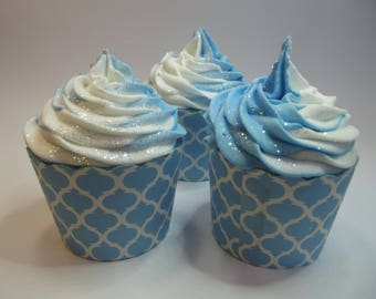 Moonlight Bath Bomb Cupcake