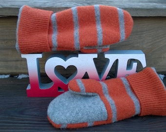 Women's Recycled Wool Mittens