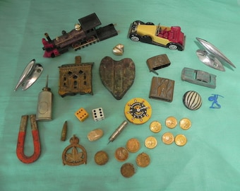 vintage junk drawer stuff