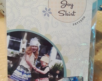 Bridget & Lucy Ruffle Joy Skirt Sewing Pattern AND KIT