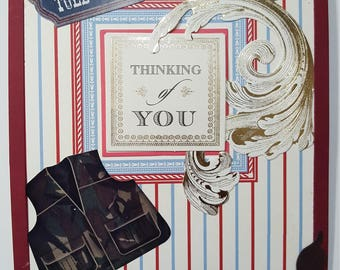 """Happy Birthday """"Thinking of You"""" greeting card"""