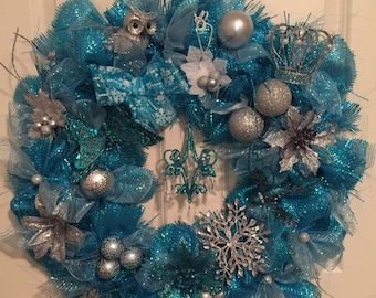 The Christmas wreath for the princess in us all.