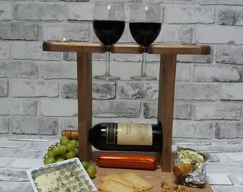 Wedding gift,Cheese board, Wine rack,anniversary gift,birthday gift,couple gift,Christmas gift,house warming gift,Antique pine