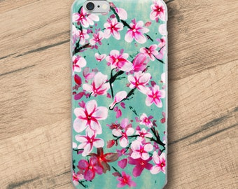 Watercolor Blossoms, Phone Case For iPhone 8 iPhone 8 Plus, iPhone X, iPhone 7 Plus, iPhone 6, iPhone 6S