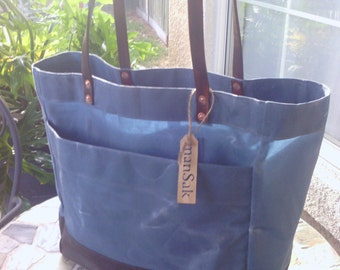 tote waxed canvas #3