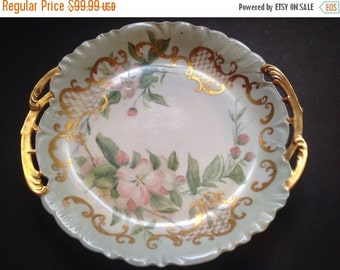 CFH GDM FRANCE limoges hand painted plate.