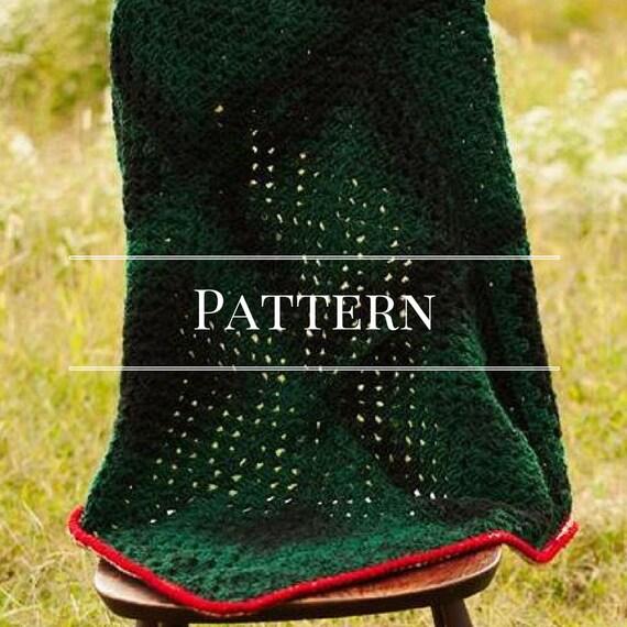 Easy Crochet Granny Square Afghan Pattern