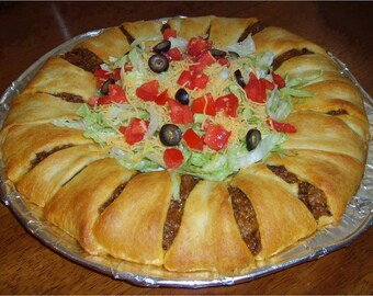 Easy Bake, Delicious Taco Ring Recipe
