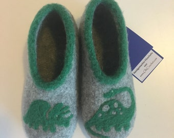 Dino slippers for kids