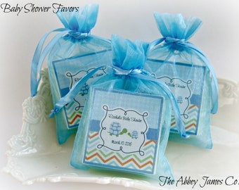 Baby boy shower favors,  soap favors, Turtle  shower favors,  set of 10