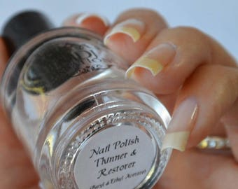 New! Polish Thinner & Restorer, forgiving 7 FREE, just add a couple drops, 15ml full size