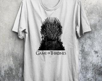 Iron Throne T-Shirt Game of Thrones Seven Kingdoms Tee