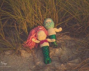 Custom Mermaid Dolls, Merman, Mermaid, Toy Doll, Mermaid Doll, Merman Doll, mermaids, Hand made doll, Handmade doll, Hand made mermaid doll