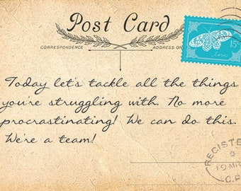 Postcards from Spirit world