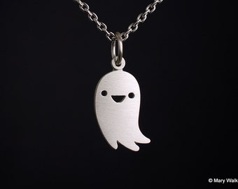 Friendly Ghost Necklace